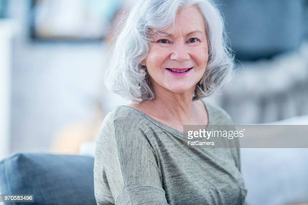 happy grandma - fatcamera stock pictures, royalty-free photos & images