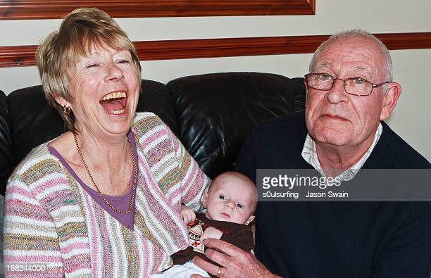 happy grandparents #2 - s0ulsurfing stock pictures, royalty-free photos & images