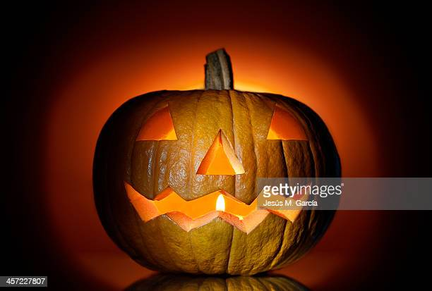 happy halloween - halloween lantern stock photos and pictures