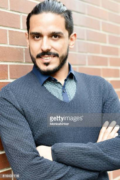 happy hispanic man - handsome mexican men stock pictures, royalty-free photos & images