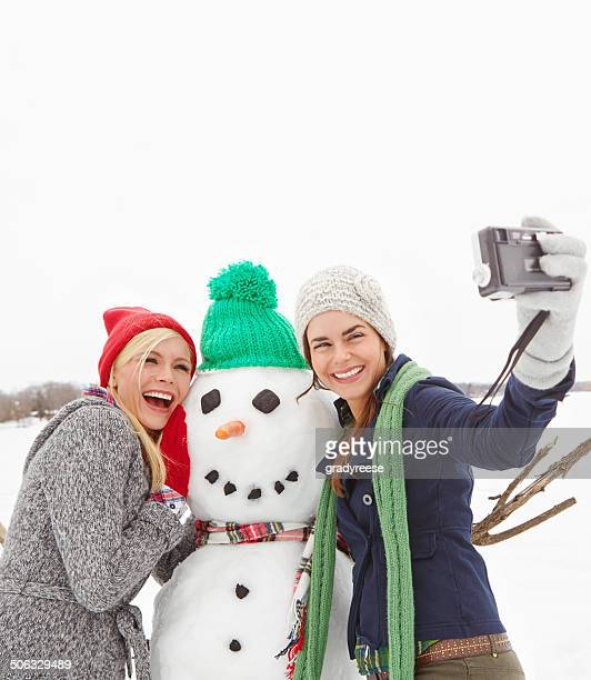 happy holidays from three best friends - happy holidays stock photos and pictures