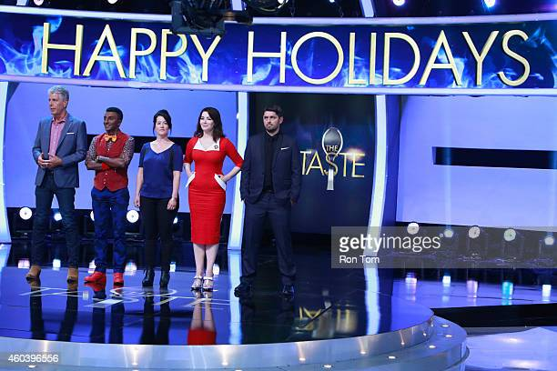 THE TASTE Happy Holidays 'Tis the season for all things delicious on Walt Disney Television via Getty Images's The Taste with 13 remaining cooks...