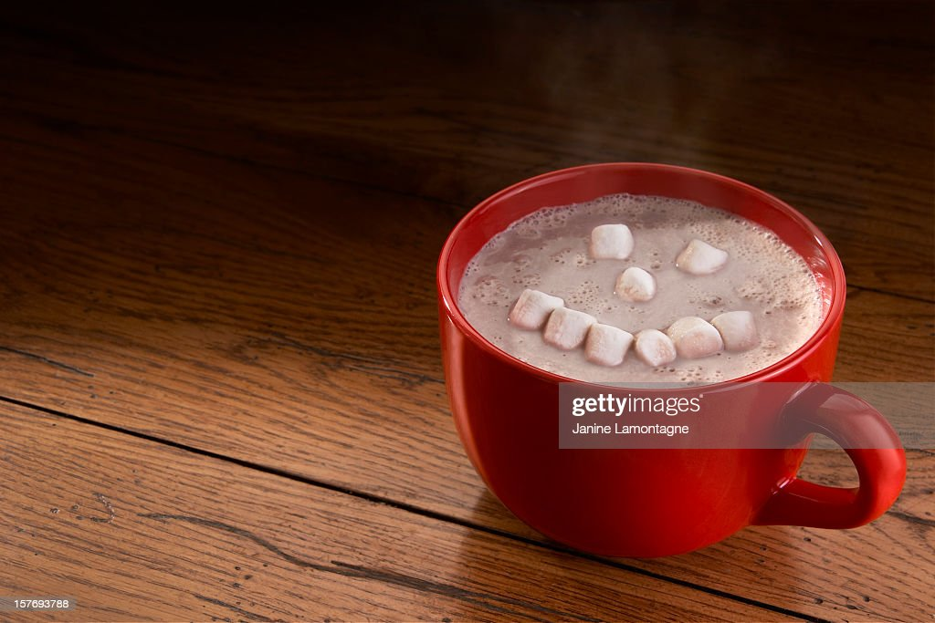 Happy Hot Chocolate : Stock Photo
