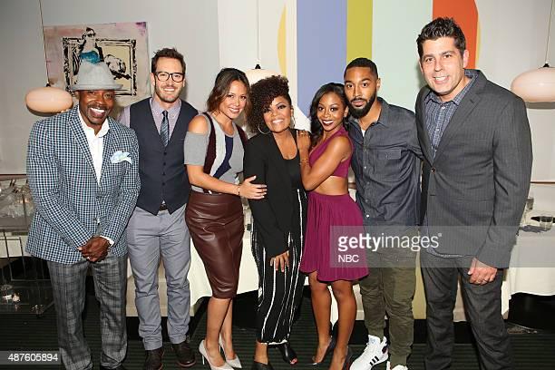 TOLD Happy Hour at Nic's Beverly Hills Pictured Will Packer MarkPaul Gosselaar Vanessa Lachey Yvette Nicole Brown Bresha Webb Tone Bell DJ Nash