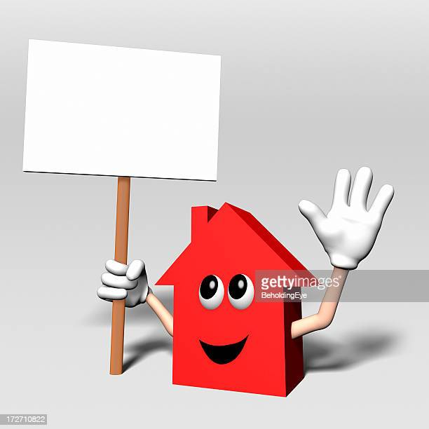 Happy House Sign XL
