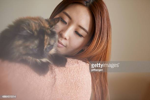 Happy is the home with a cat