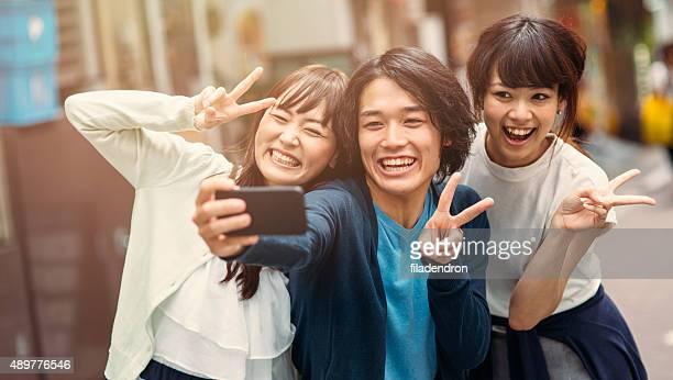 な日本のご友人との自分撮りを承っております。
