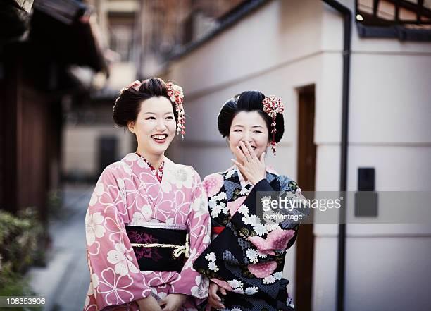 Happy Japanese Girls