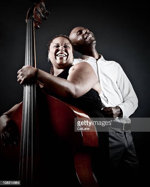 Happy Jazz-Musiker