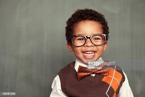 Happy Kid Nerd