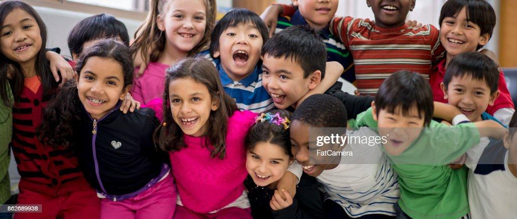 Happy Kids : Stock Photo