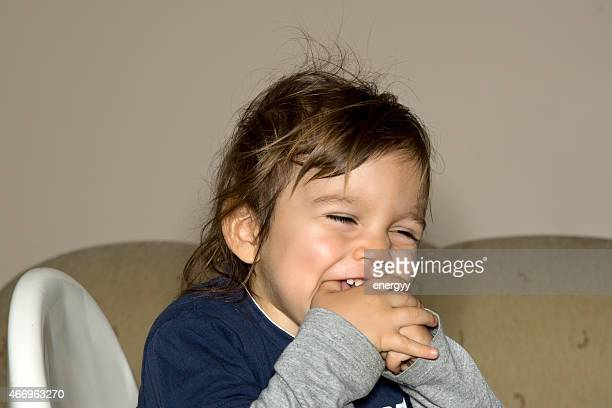 happy little boy - ugly baby stock photos and pictures
