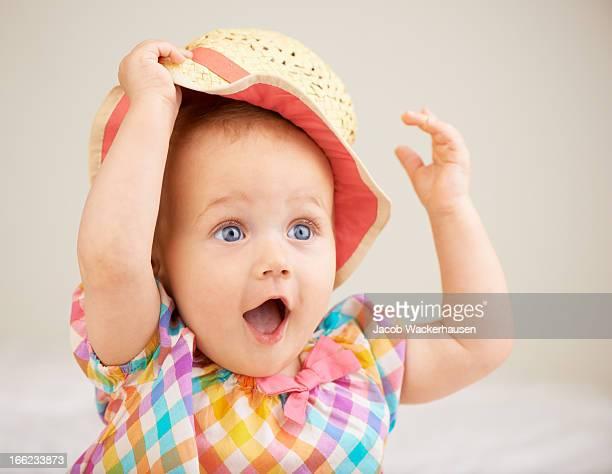 Happy little hatter