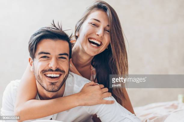happy love - flirting stock pictures, royalty-free photos & images