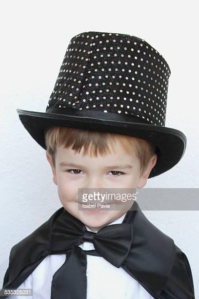 Happy magician