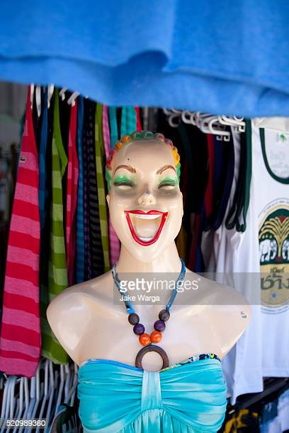 happy mannequin, thailand - jake warga stock pictures, royalty-free photos & images