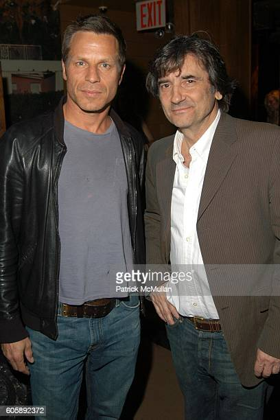 Happy Massee and Griffin Dunne attend JORDANA BREWSTER's Blame it on Rio Birthday Party hosted by CABANA CACHACA at Bungalow 8 on April 20 2006 in...