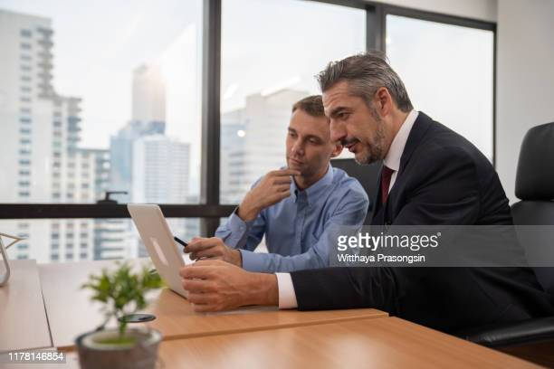 happy mature business man - business finance and industry stock pictures, royalty-free photos & images