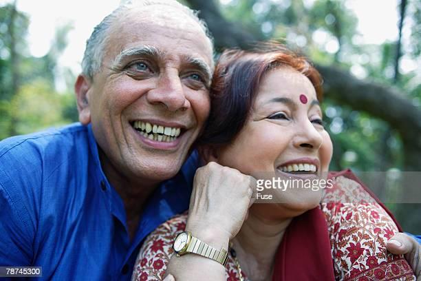 Happy Mature Couple Outside