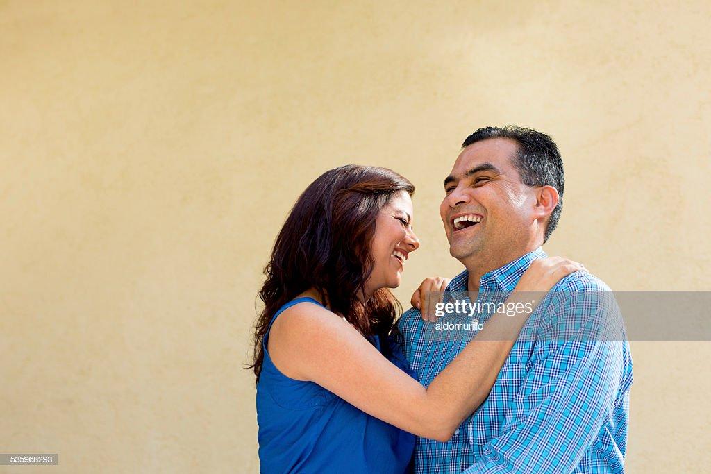 Happy mature couple : Stock Photo