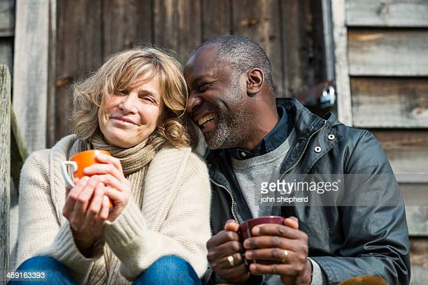 Happy Mature Couple sharing a funny moment