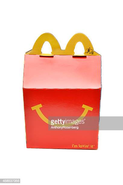 happy meal - happy meal stock photos and pictures