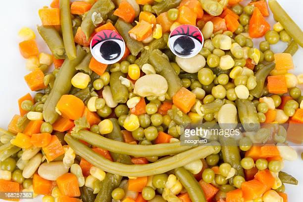 Happy mixed vegetables
