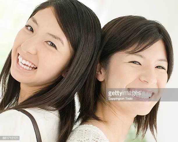 happy mother and daughter - somente japonês - fotografias e filmes do acervo