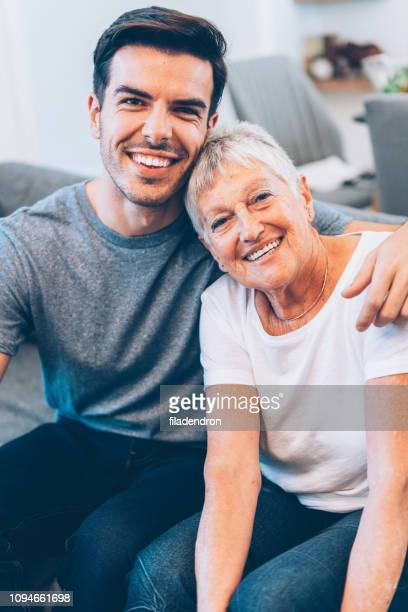 happy mother and son - son stock pictures, royalty-free photos & images