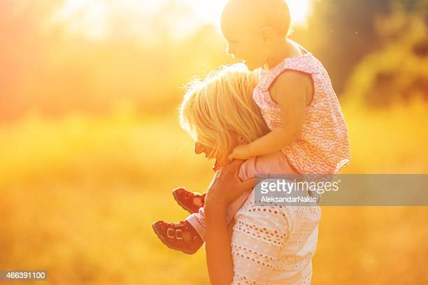 Glückliche Mütter