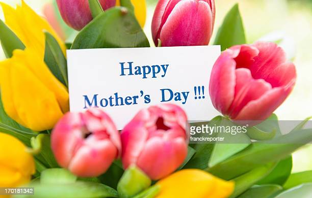 happy mother's day bouquet of flowers - mothers day card stock pictures, royalty-free photos & images