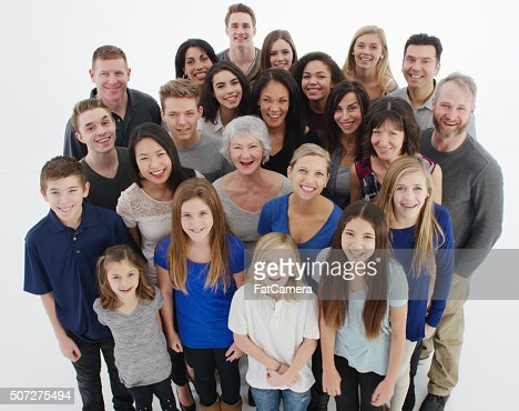 Happy Multigenerational Family Stock Photo Getty Images