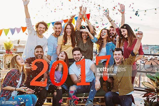 Happy New 2017 Party