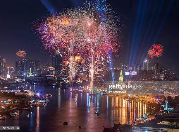 Happy new year 2016 celebration