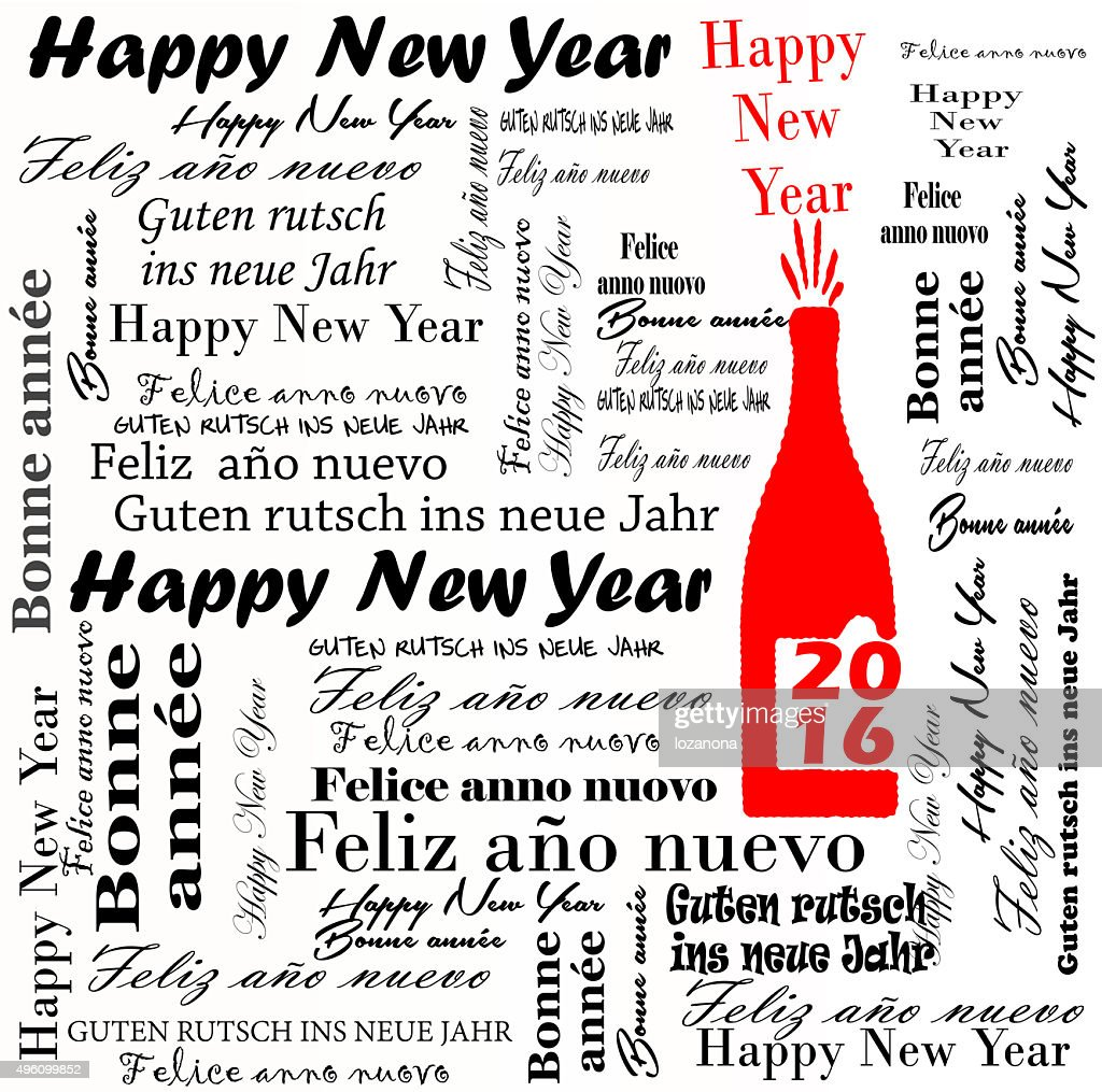 happy new year word scramble 10 words. happy new year font red ...