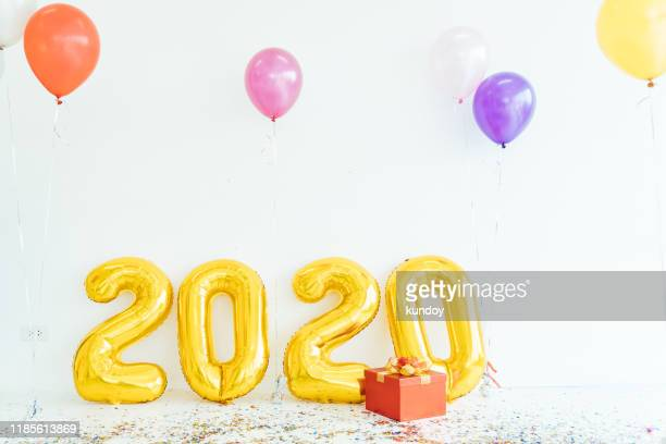 happy new year 2020 banner background. - new year 2020 stock photos and pictures