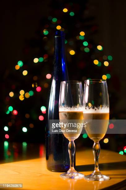 happy new year at christmas tree bokeh - 2020 2029 stock pictures, royalty-free photos & images