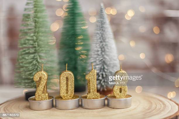 2018 Happy New Year Christmas Decoration
