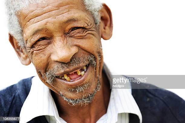 Glückliches alter Mann