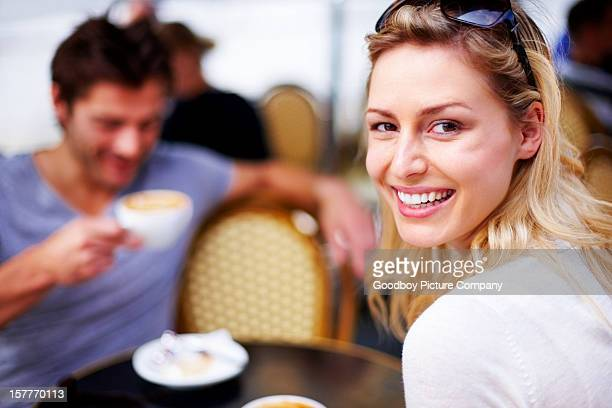 happy on date - heterosexual couple stock pictures, royalty-free photos & images