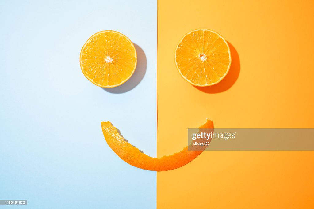 Happy Orange : Stock Photo