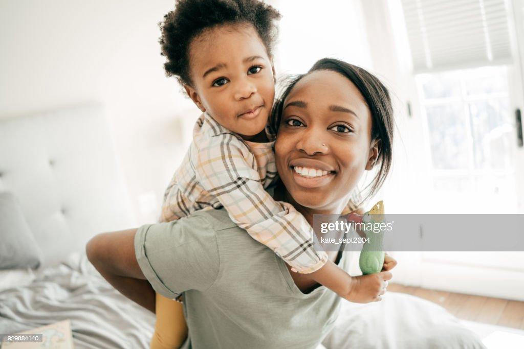Happy parenting : Stock Photo