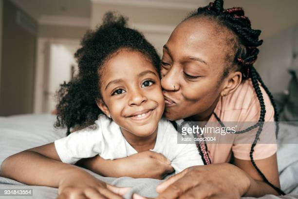 happy parenting - single mother stock photos and pictures