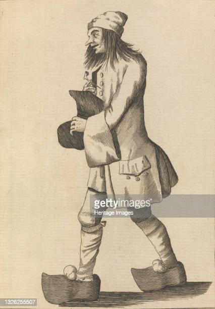 Happy Peasant, August 1, 1771. Artist Unknown.