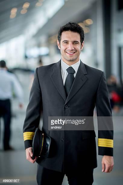 Happy pilot