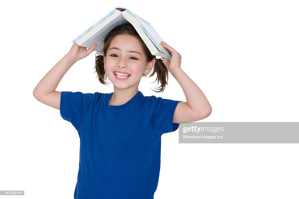 Happy reader : Stock Photo