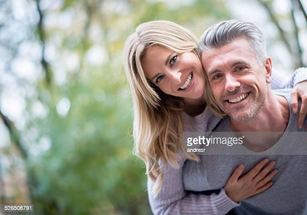 Glücklich Romantisches Paar