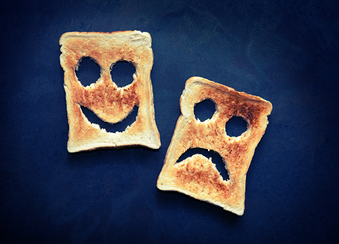 Happy sad toast - gettyimageskorea