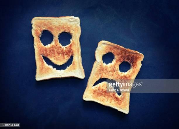 Happy sad toast