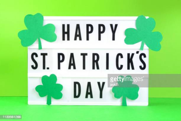 happy saint patrick day - st patricks stock pictures, royalty-free photos & images